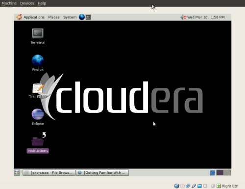 Cloudera-virtualbox
