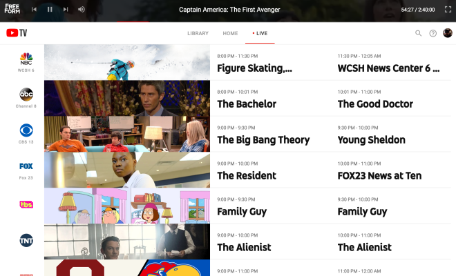 What's the Deal With YouTube TV? – sogrady org